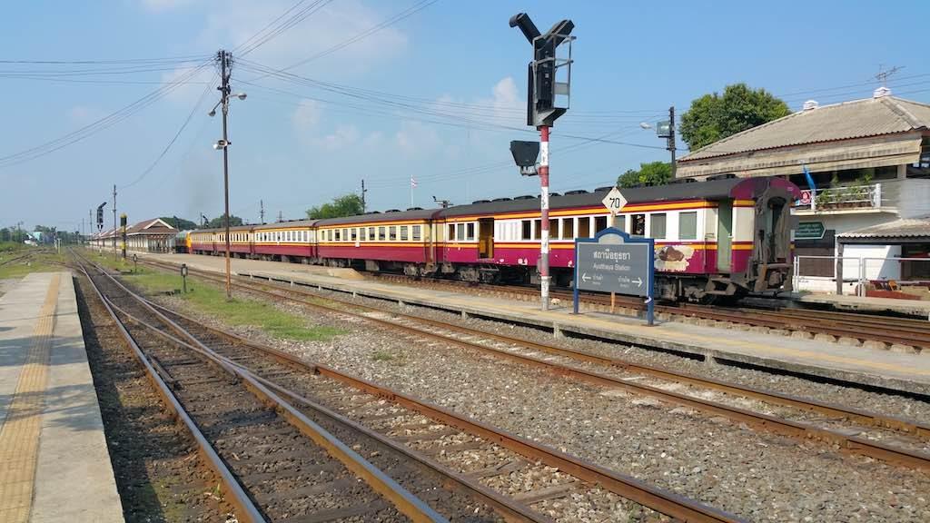 Ayutthaya, Thailand - Ayutthaya Railway Station