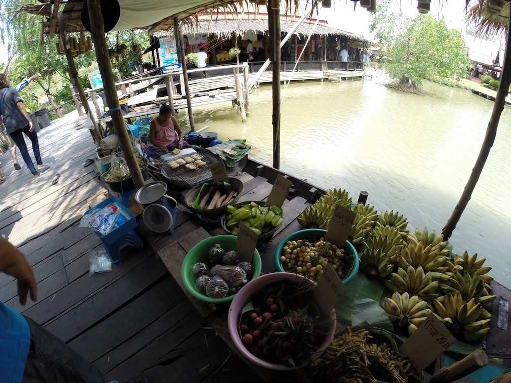 Ayutthaya, Thailand - fruit market