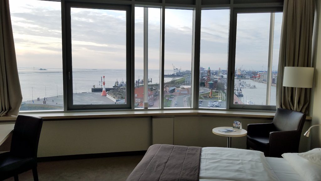 Bremerhaven, Germany - Atlantic Hotel Room with A view