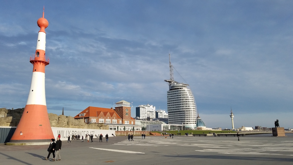 Bremerhaven, Germany - Atlantic Hotel and SailCity