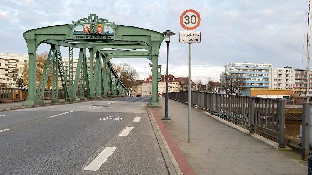Bremerhaven, Germany - Geestebrücke
