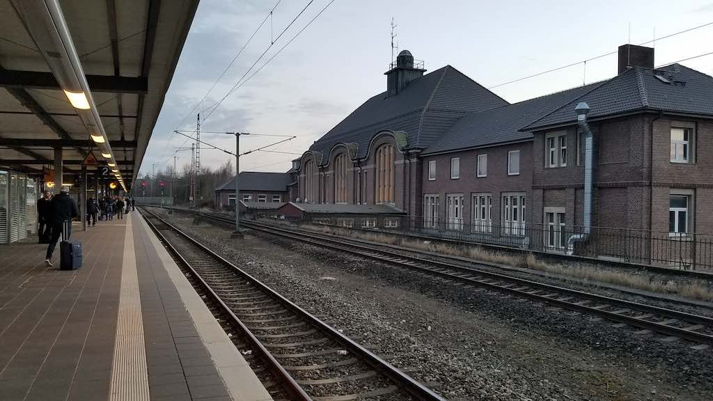 Bremerhaven, Germany - Train station (Hauptbanhoff)