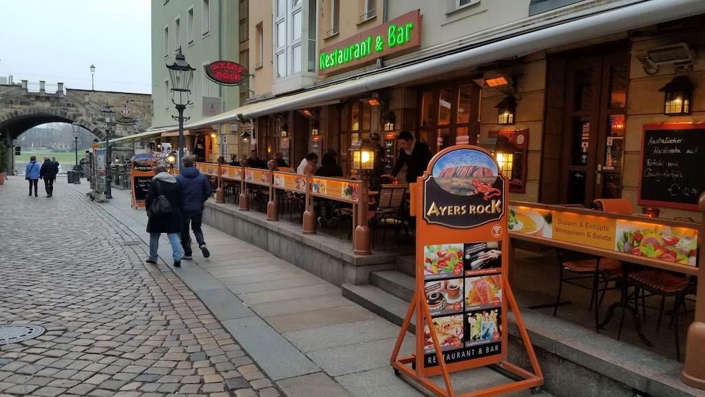 Dresden, Germany - Ayers Rock Restaurant