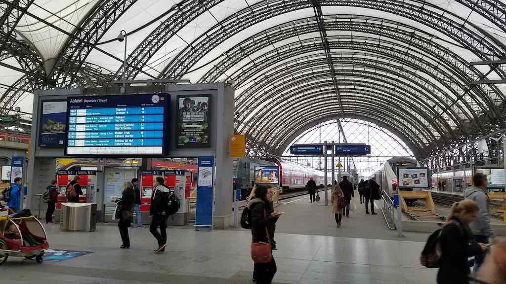 Dresden, Germany - Hauptbahnhof