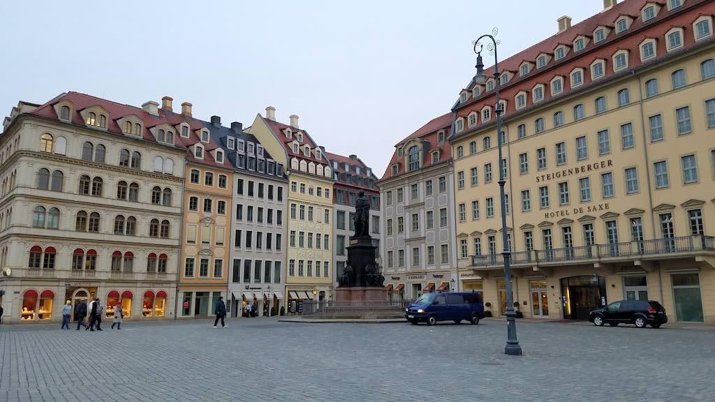 Dresden, Germany - Steigenberger hotel de saxe