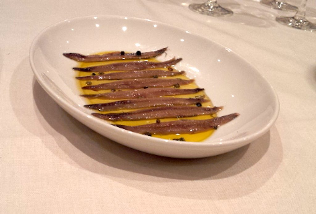 Girona, Costa Brava Spain - Anchovies