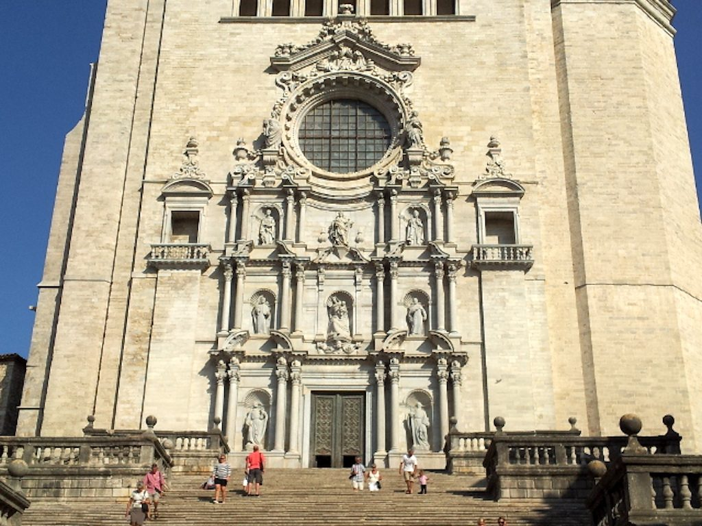 Girona, Costa Brava Spain - Girona Cathedral