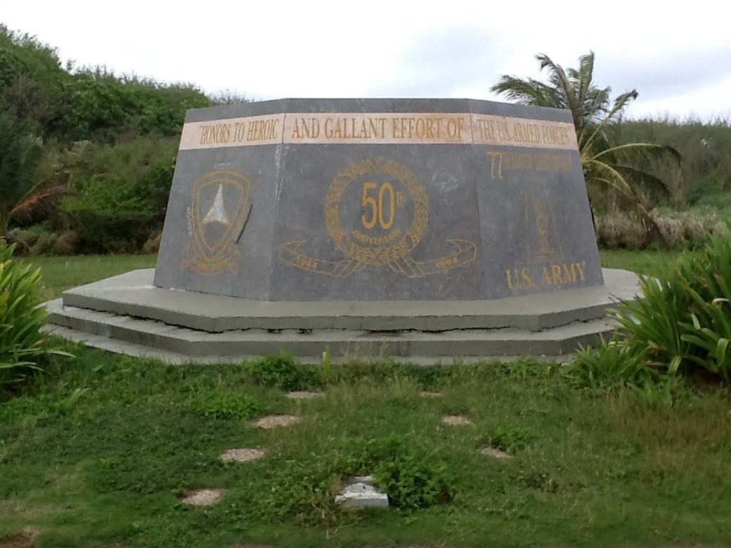Guam - Monument at Asan Beach