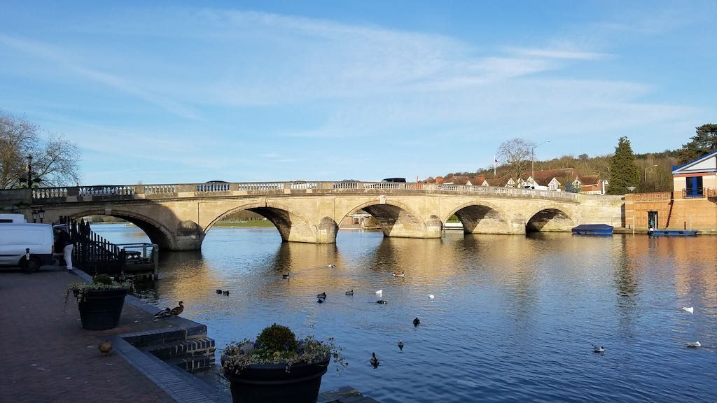 Henley-on-Thames, United Kingdom - The Henley Bridge