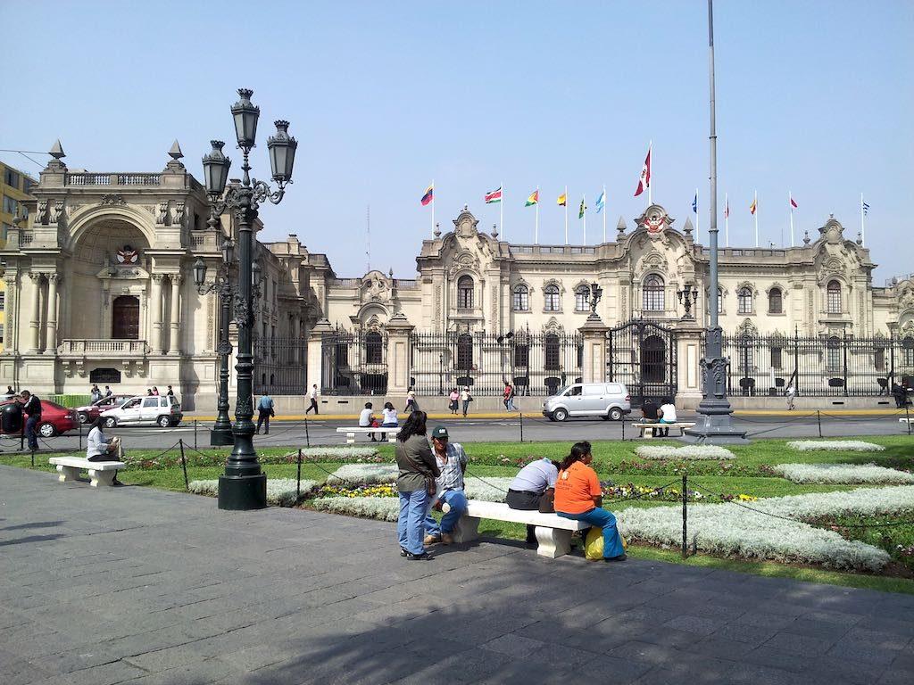 Lima, Peru - Palace