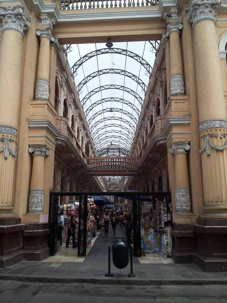 Lima, Peru - Shopping Center