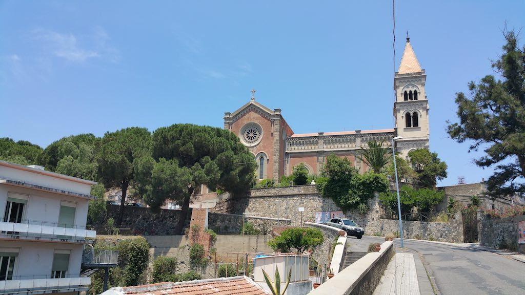 Messina, Italy - Santuario della Madonna di Montalto