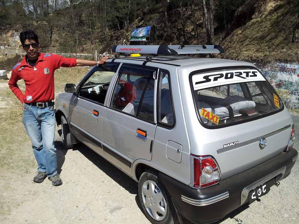 Nagarkot, Nepal - My Driver in Nagarkot