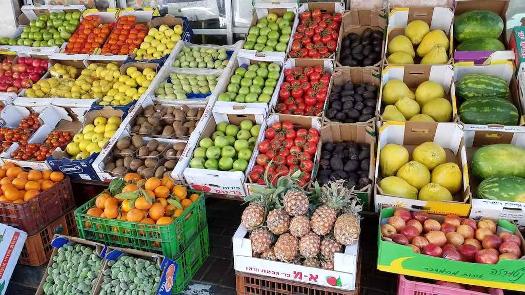 Nazareth, Israel - Fruits