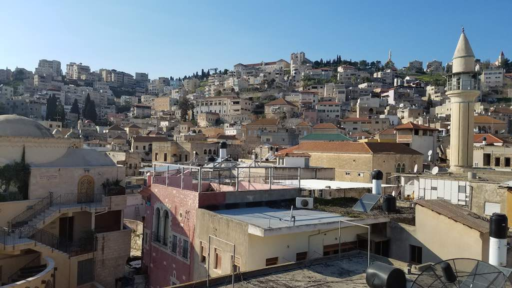 Nazareth, Israel - The White Mosque