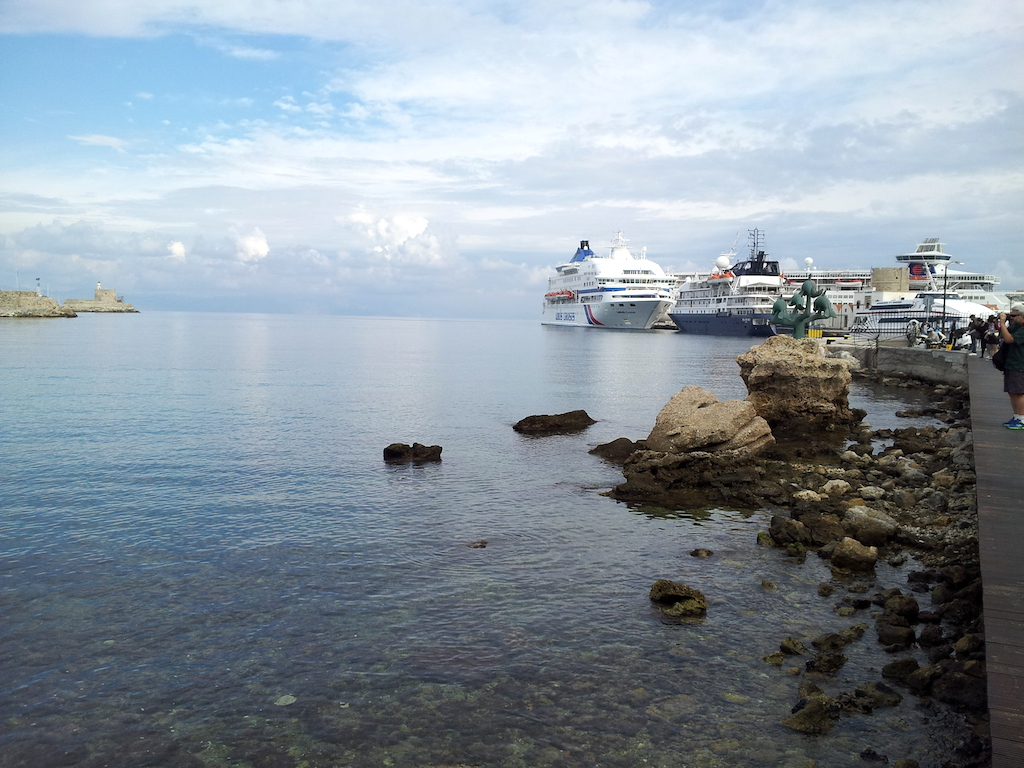 Rhodes, Greece - Cruise Port