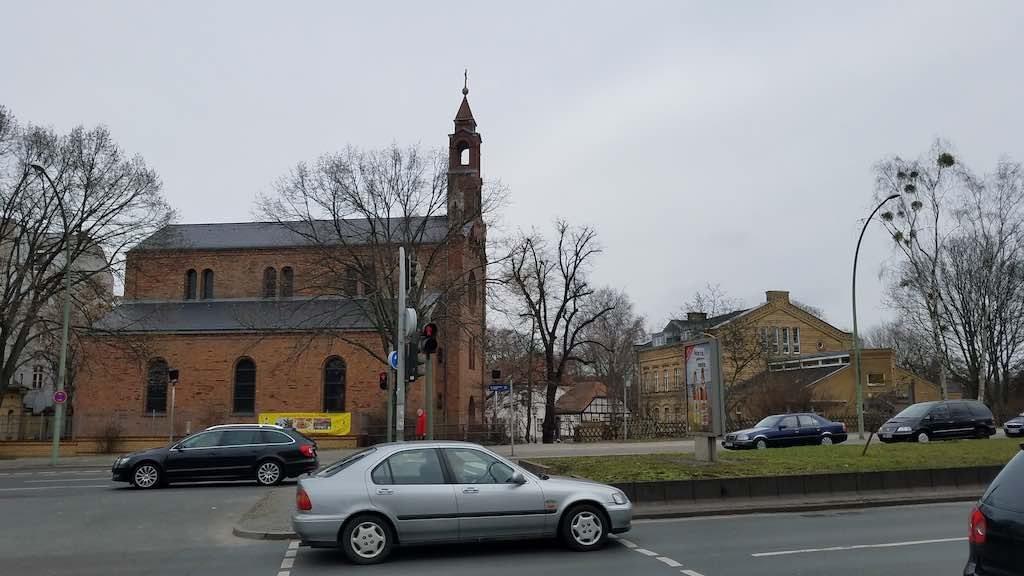 Spandau, Berlin Germany - St. Marien am Behnitz