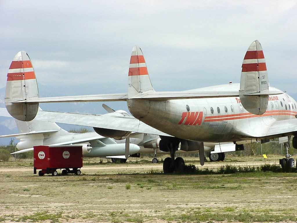 Tucson, Arizona - Pima Air Museum TWA - Lockheed Constellation