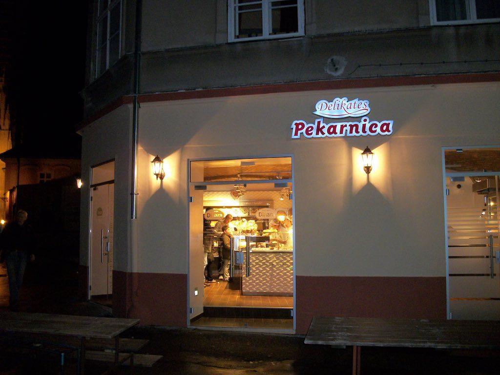 Zagreb, Croatia - Pekarnica