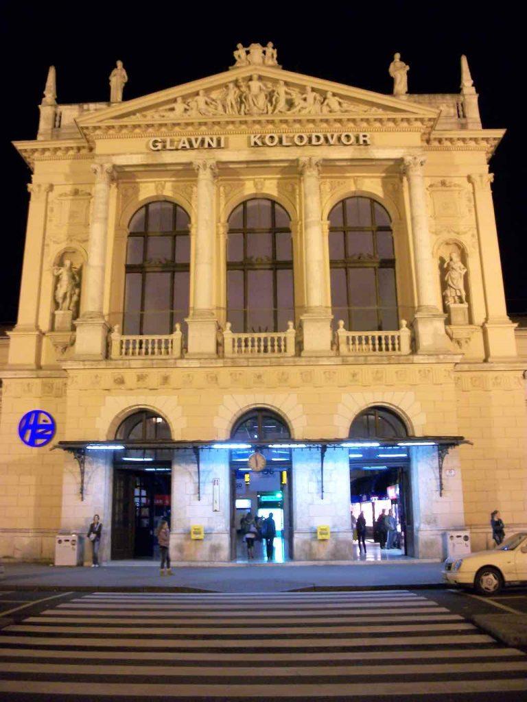 Zagreb, Croatia - Zagreb Glavni Kolodvor (main Railway Station)