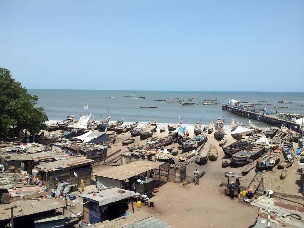 Accra, Ghana - Fishing Village