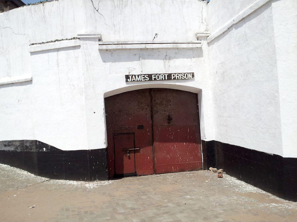 Accra, Ghana - James Fort Prison