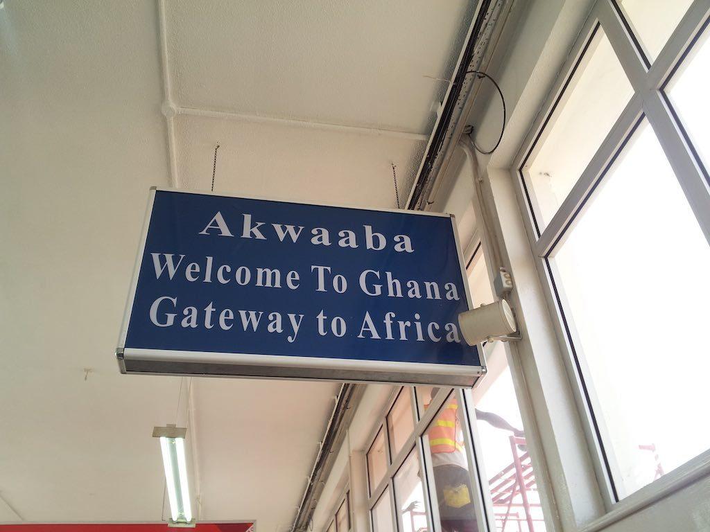 Accra, Ghana - Welcome to Ghana