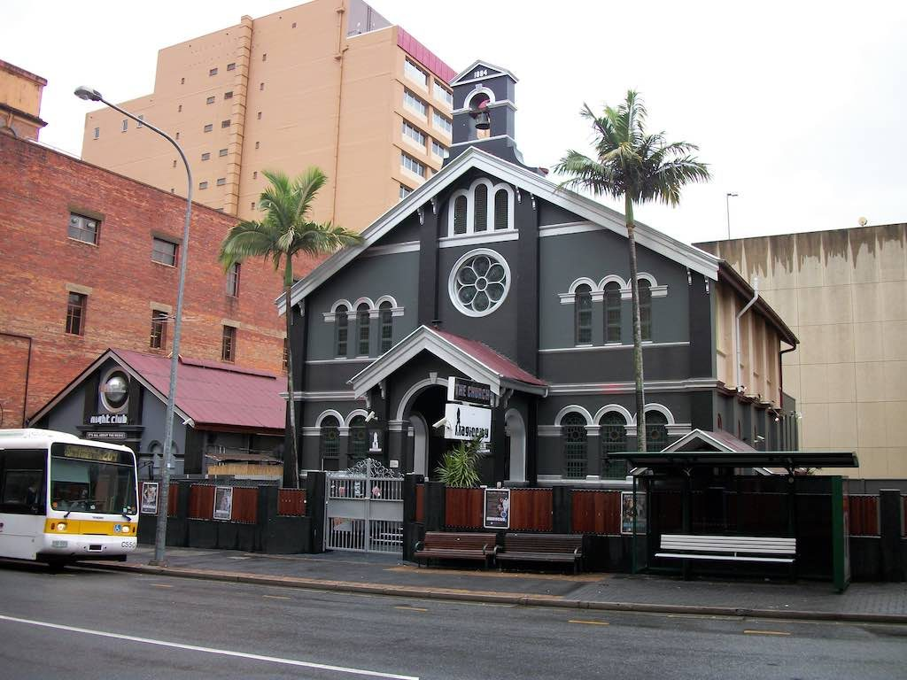 Brisbane, Queensland Australia - Magic City, The Church Night Club