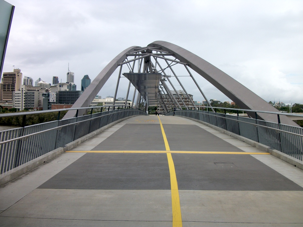 Brisbane, Queensland Australia - The Goodwill Bridge