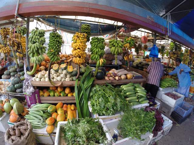 Colombo, Sri Lanka - Fruits and Vegetables at the Colombo Maning Market
