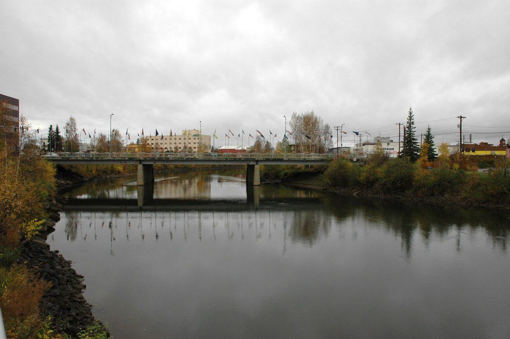 Fairbanks, Alaska USA - Bridge