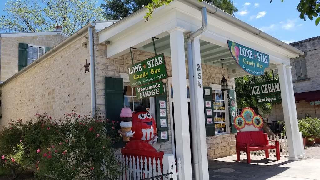Fredericksburg, Texas USA - Lone Star Candy Bar