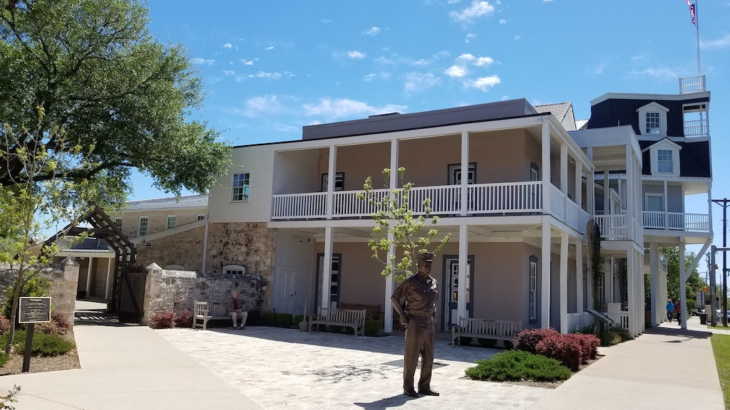 Fredericksburg, Texas USA - Nimitz Plaza