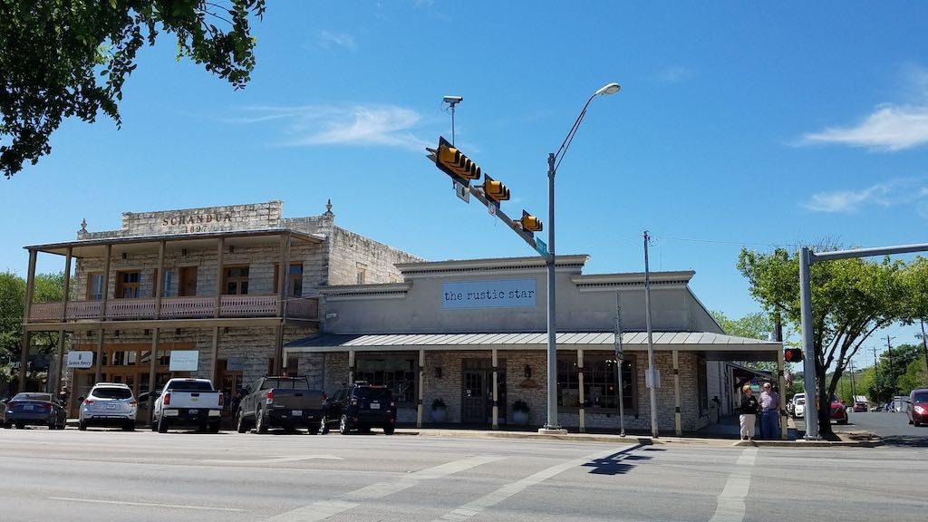 Fredericksburg, Texas USA - Rustic Star