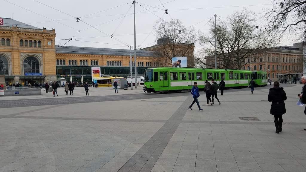 Hannover, Germany - Deutsche Bahn Hauptbanhoff