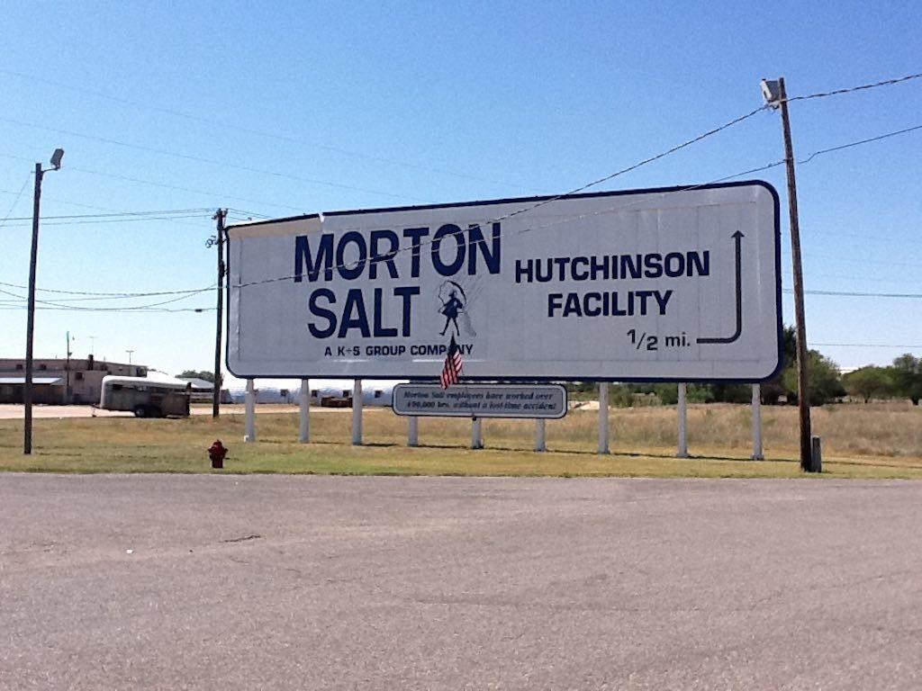 Hutchinson, Kansas USA - Morton Salt Facility
