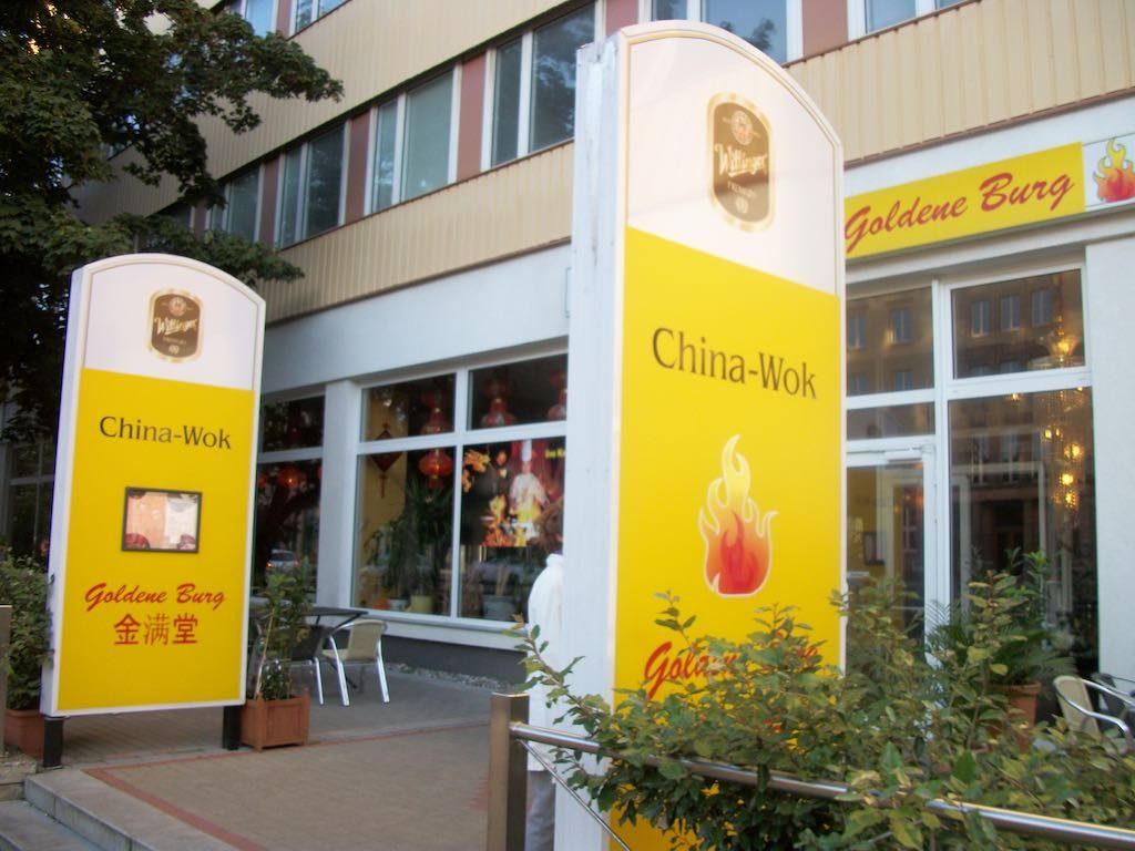 Magdeburg, Germany - China Wok Restaurant