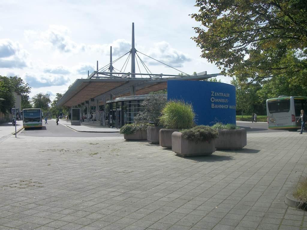 Magdeburg, Germany - Magdeburg ZOB