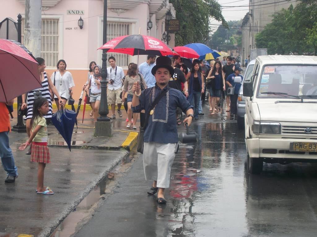 Manila, Philippines - Carlos Celdran