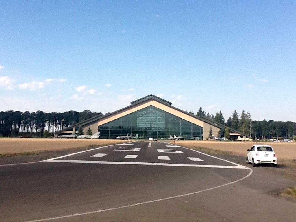 McMinnville, Oregon USA - Evergreen Aviation Museum