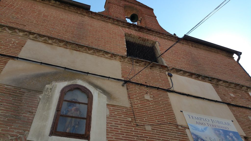 Medina del Campo, Spain - Church