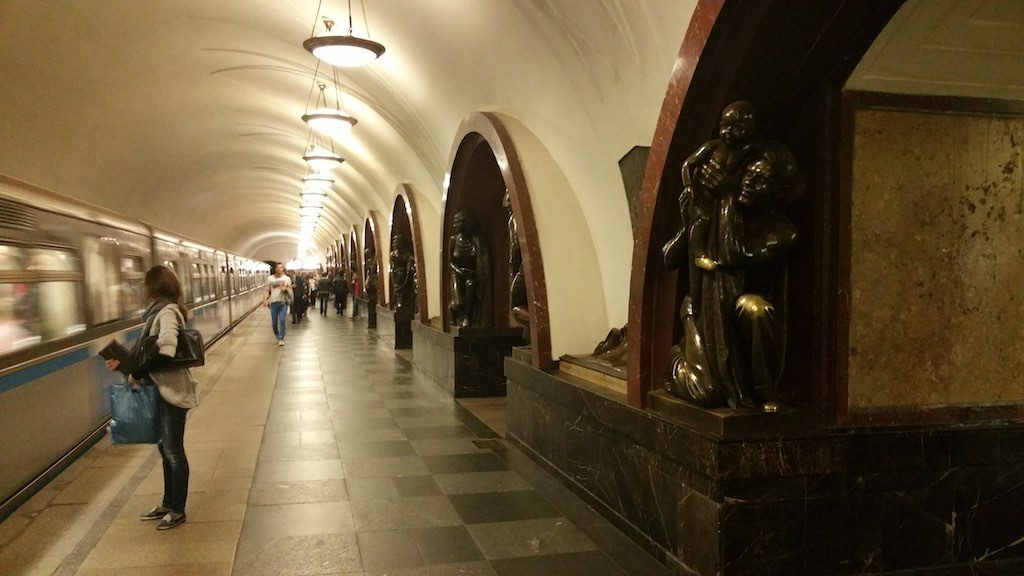 Moscow, Russia - Subway