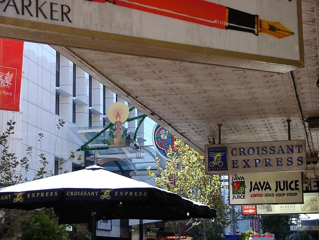Perth, Australia - Croissant Express
