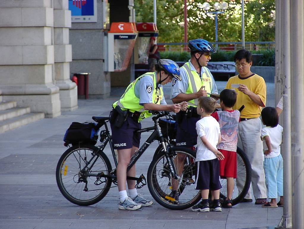 Perth, Australia - Police Officers