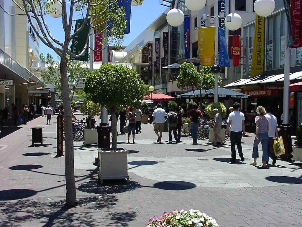 Perth, Australia - Shopping