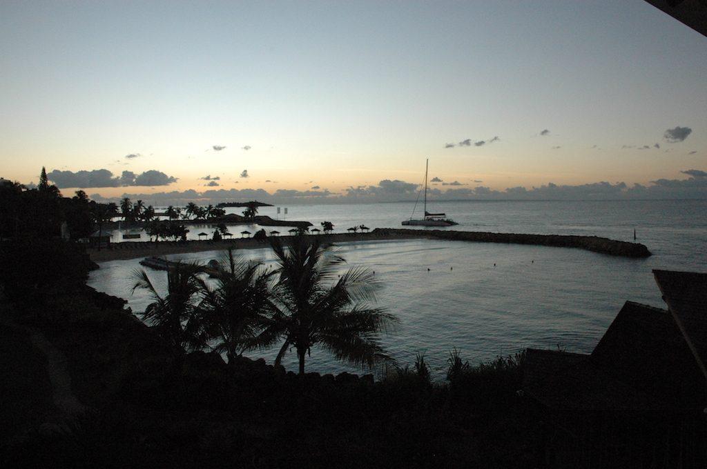 Pointe-à-Pitre, Guadeloupe - sunrise
