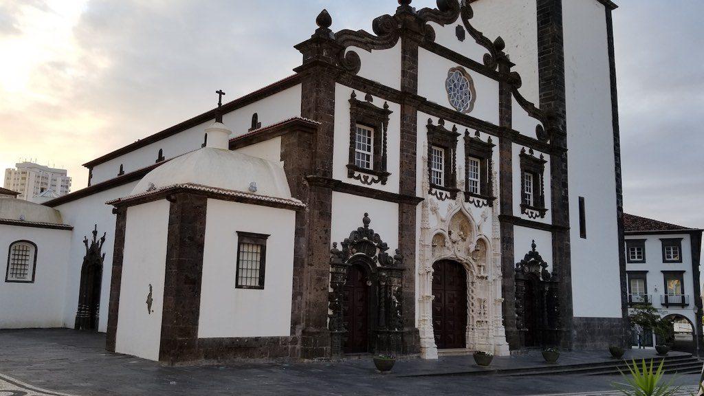 Ponta, Delgada Azores Sao Miguel, Portugal - Church