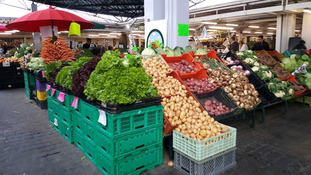 Ponta Delgada Azores Sao Miguel, Portugal - Market