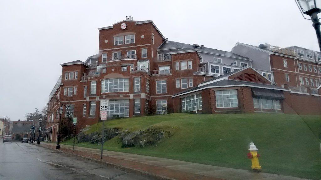 Portsmouth New Hampshire, USA - Sheraton Hotel