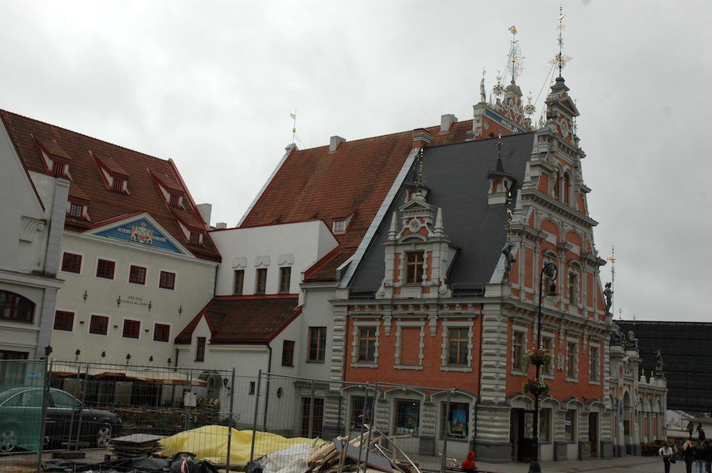 Riga, Latvia - House of the Blackheads in the Old Town